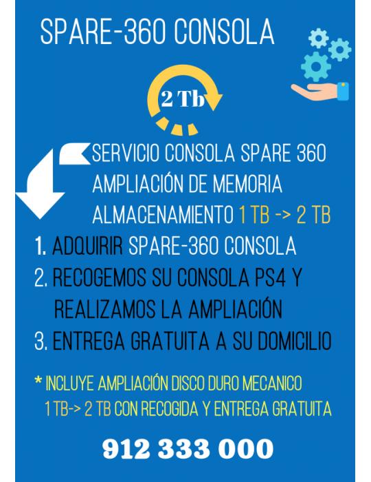 Spare 360 Consola 2Tb