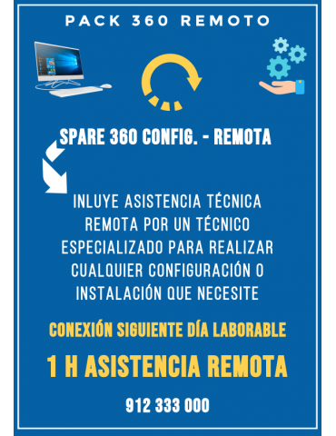 Servicio Remoto Spare 360