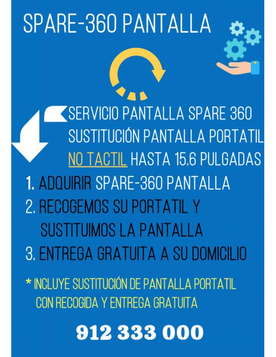 Servicio Spare360 Pantalla