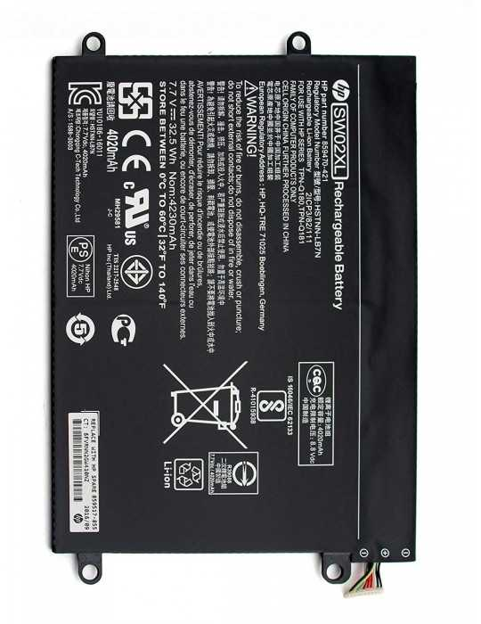 Bateria HP Original HP 10-p014ns