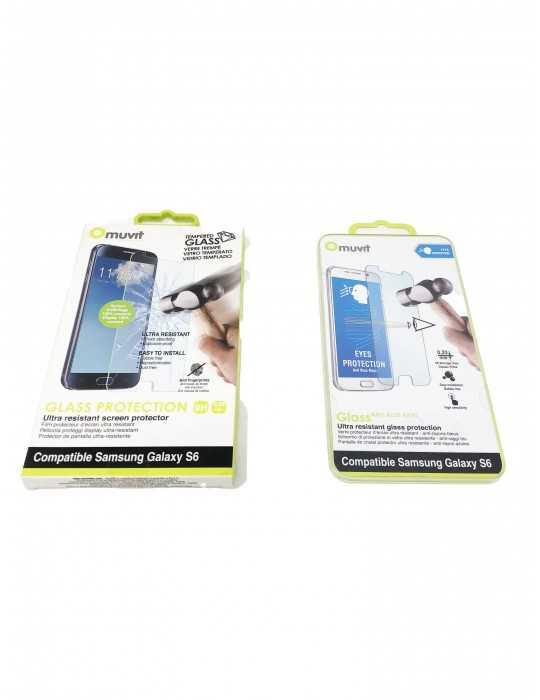Protector Pantalla Vidrio Templado Samsung Galaxy S6