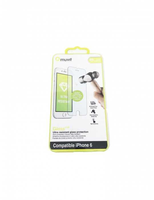 Protector Pantalla Vidrio Telefono Iphone 6 MUSCP0623
