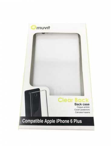 Carcasa Trasera Transparente Telefono Iphone 6 Plus