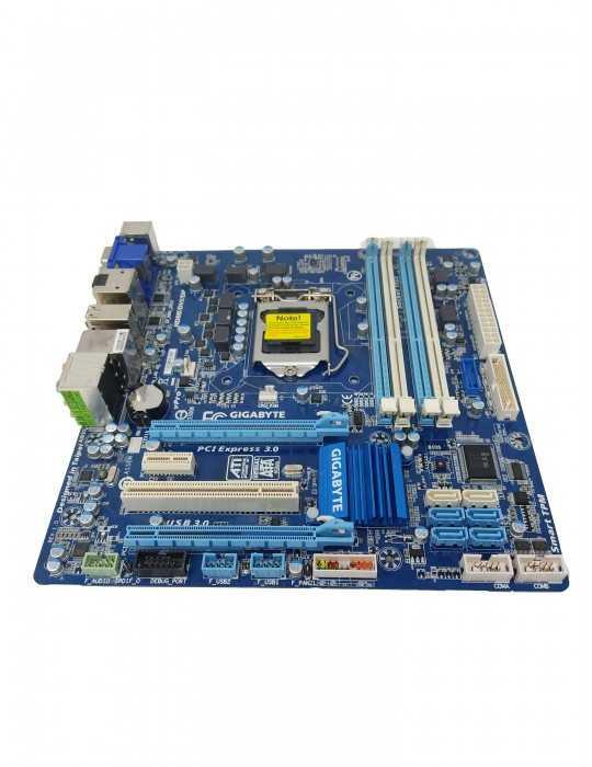 Placa Base Ordenador ATX LGA1155 DDR3 GIGABYTE Q77M-D2H