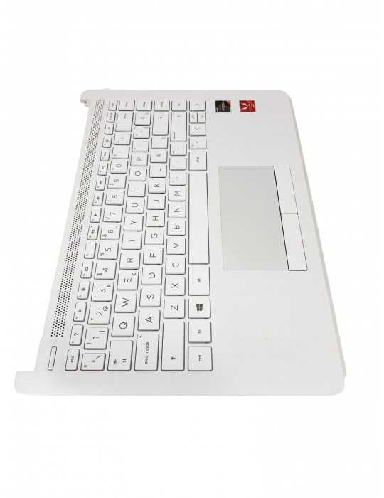 Top Cover con Teclado Portátil Original HP L24820-071