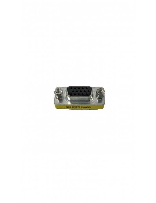 Conector Adaptador VGA Macho/Hembra VGA-F-M