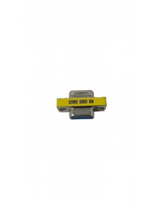 Conector Adaptador Puerto Serie DB9 Hembra/Hembra SERIE-H-H