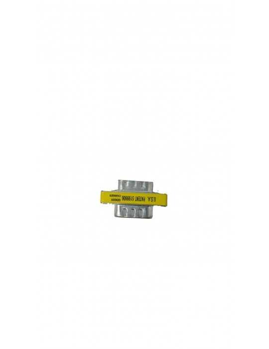 Conector Adaptador Puerto Serie DB9 Macho/Macho SERIE-M-M
