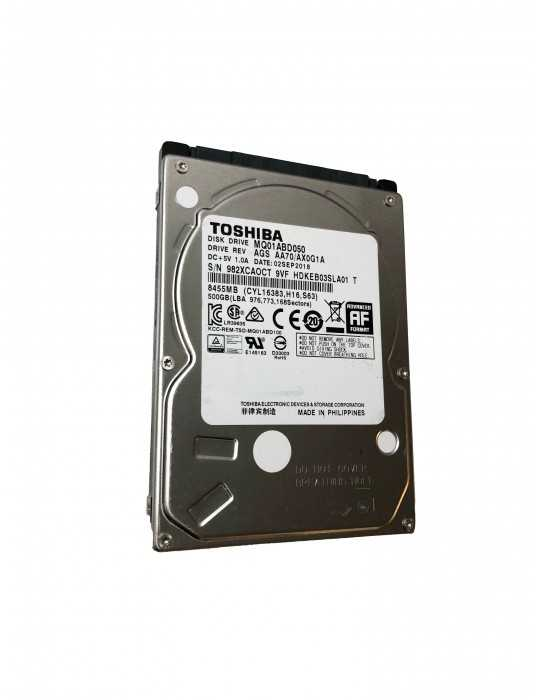 Disco Duro Toshiba 500GB 2.5 Sata MQ01ABD050
