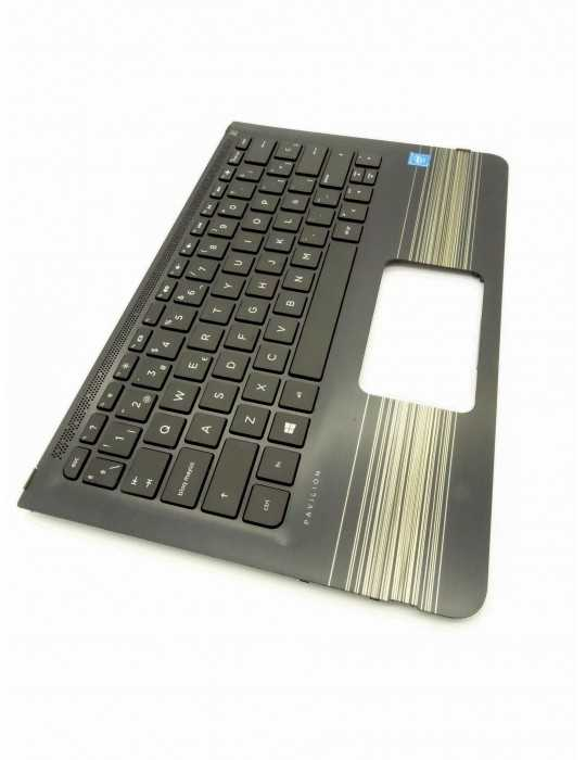 Topcover con teclado español portatil HP Pavilion x360 Convertible 11-u014ns