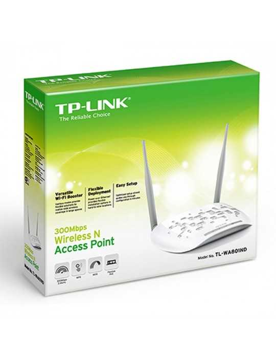 Punto de acceso Inalámbrico N a 300 Mbps TP-LINK TL-WA801ND
