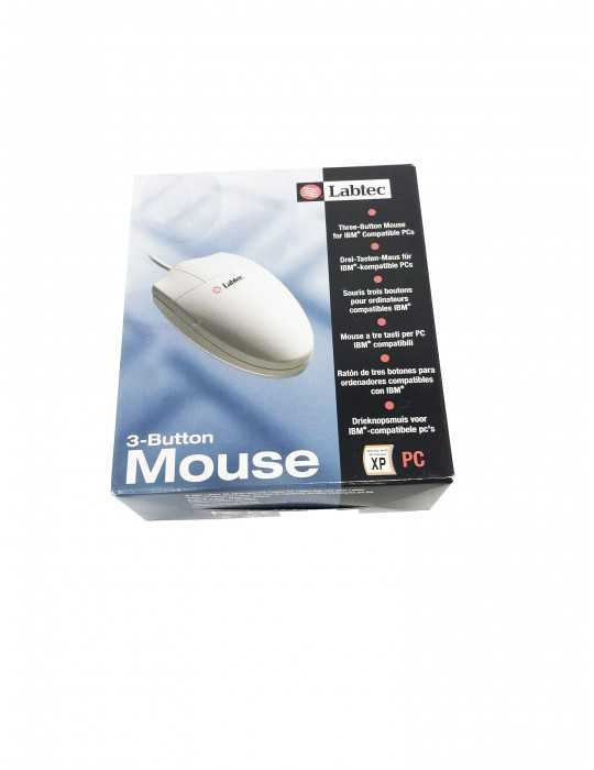 Raton Mouse 3 Button USB Cable LABTEC 911523-0914