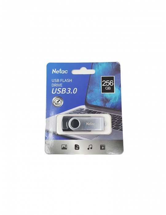 Pendrive Memoria USB Flash 3.0 256GB NETAC