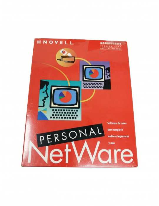 Sofware Vintage Personal Netware Novell S34731564