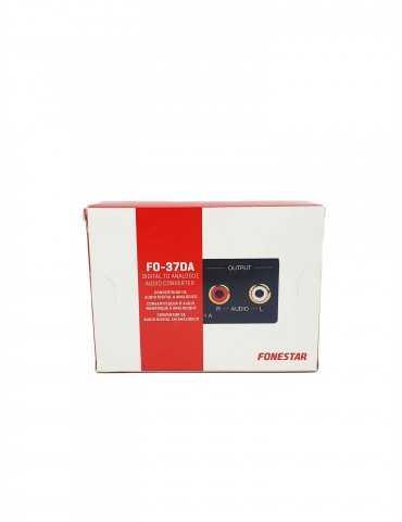 Convertidor Audio Digital Analógico Fonestar F0-37DA
