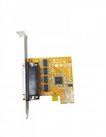 Tarjeta PCI Express RS-232 Ordenador Sunix SER6456A