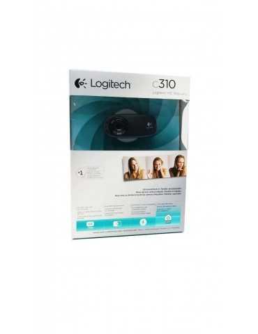 Webcam Hd Logitech C310 Usb 960-000586