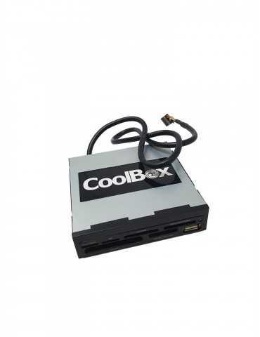 Lector Tarjetas CoolBox Sobremesa CRC00CR4002L