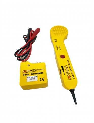 Trazador Comprobador de Cableado TC470AES01