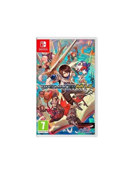 Juego Nintendo Switch Rpg Maker Mv E02866