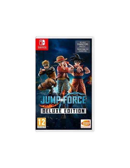 Juego Nintendo Switch Jump Force Deluxe Cã³Digo De Descarga 114978