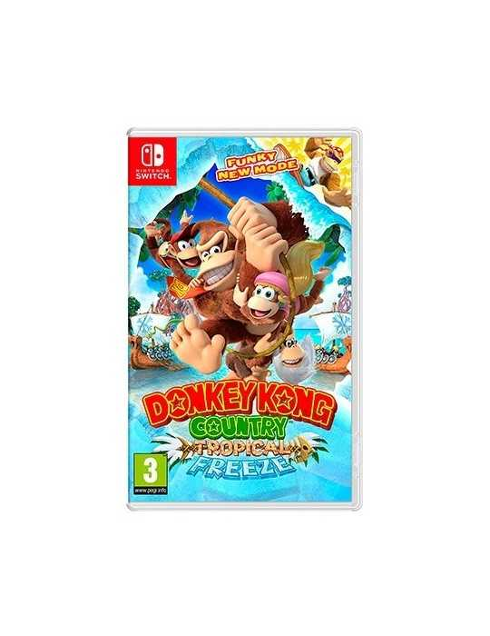 Juego Nintendo Switch Donkey Kong Tropical Freeze 2522981
