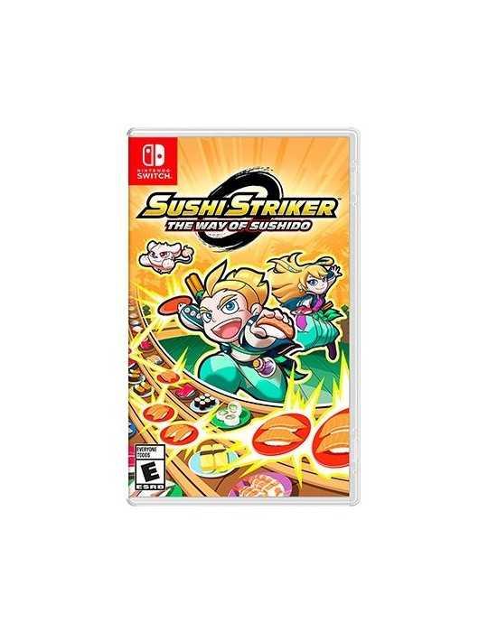 Juego Nintendo Switch Sushi Striker Way Of Sushido 2523481