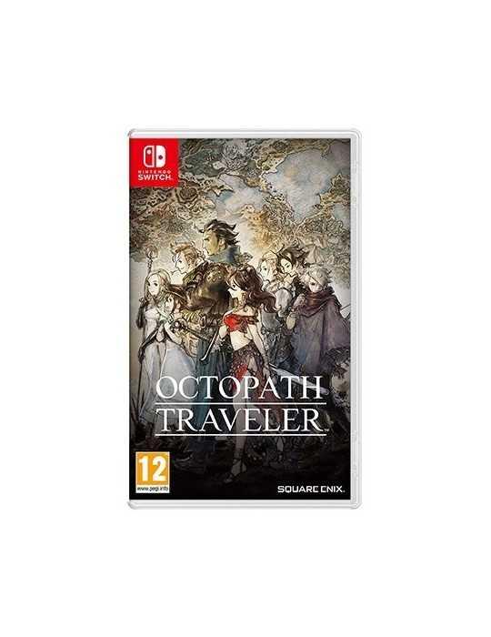 Juego Nintendo Switch Octopath Traveler 2523781