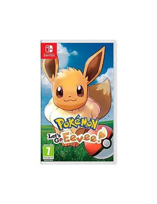 Juego Nintendo Switch Pokemon Lets Go Eevee 2524981