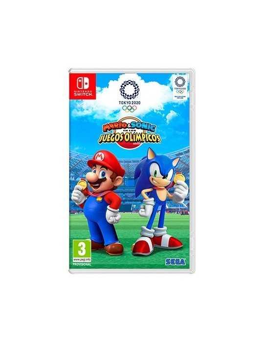 Juego Nintendo Switch Mario Sonic Jjoo Tokyo 2020 10002150