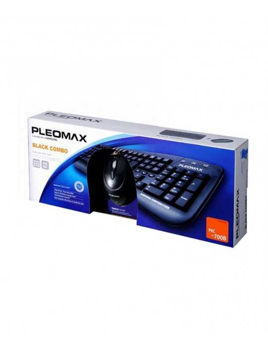 Combo Teclado - Raton Pleomax PCC-4600 - (PS2) ESP Negro
