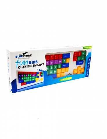 Teclado Bluestork FunKids colores para niños - ESP - USB