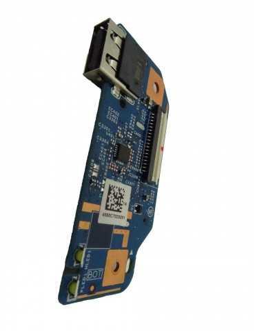Placa Lector Tarjetas/USB portátil HP 17-BS 926528-001