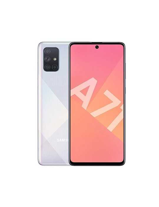 Movil Samsung Galaxy A71 A715 6Gb 128Gb Ds Plat Eu Octa Cor Sm-A715Fzsuphe/Eu