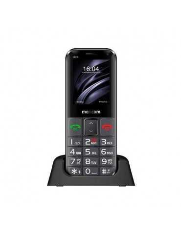 Movil Maxcom Comfort Mm730 Negro 2.2 /800Mah/Boton Sos Mm73 Mm730