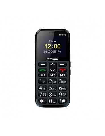 Movil Maxcom Comfort Mm38D Negro 2.2 /1000Mah/Boton Sos Mm3 Mm38D