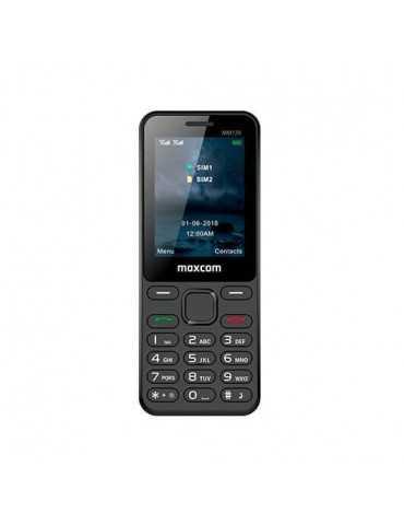 Movil Maxcom Classic Mm139 Negro 2.4 /Microsd Hasta 8Gb/800 Mm139(Negro)