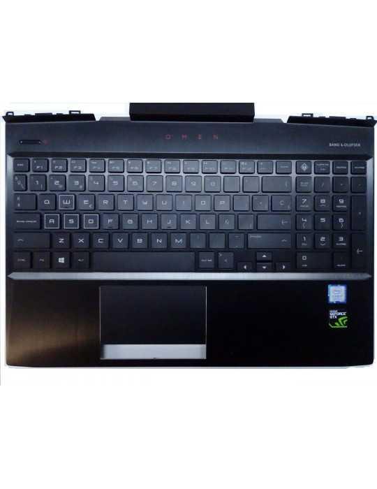 Top Cover Teclado para Portátil modelo HP Omen 15-dc007ns