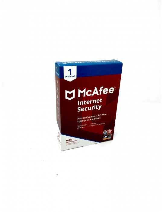 McAfee Internet Security 2020 Versión completa 1 Año