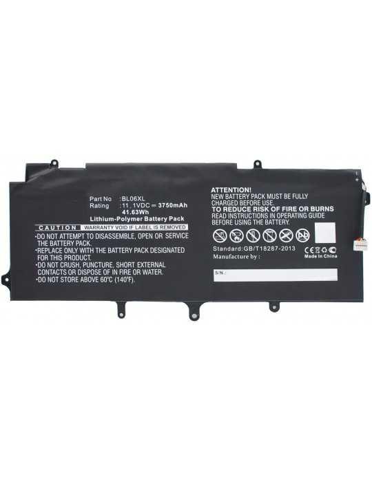 MBXHP-BA0157 Batería HP 42Wh Li-Pol 11.1V 3750mAh Black