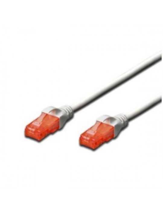 Cable Ethernet RJ45- CAT 6 U-UTP 1M Latiquillo 1M