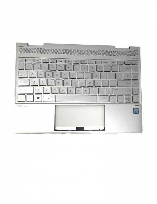 Top Cover con Teclado Original Portátil HP L04894-071