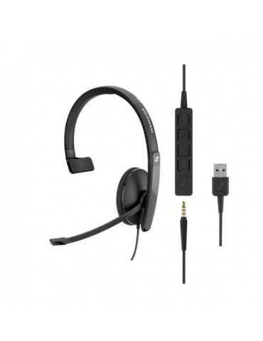Cascos y Auriculares 508355 Sennheiser SC135 USB y Jack
