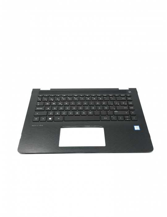 Top Cover con Teclado Original portátil HP x360 924117-071