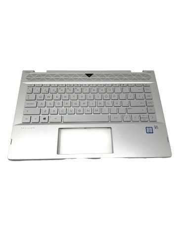Top Cover con Teclado Portátil Original HP L18955-071