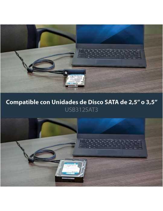 Adaptador Disco Duro Ordenador o Portátil USB312 a SATA 3