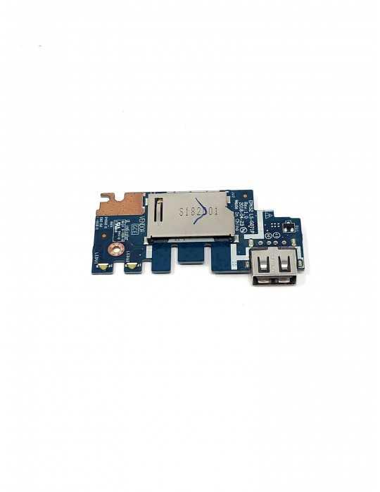 Placa USB Lector de Tarjetas - HP 15-DA0033WM - L20448-001