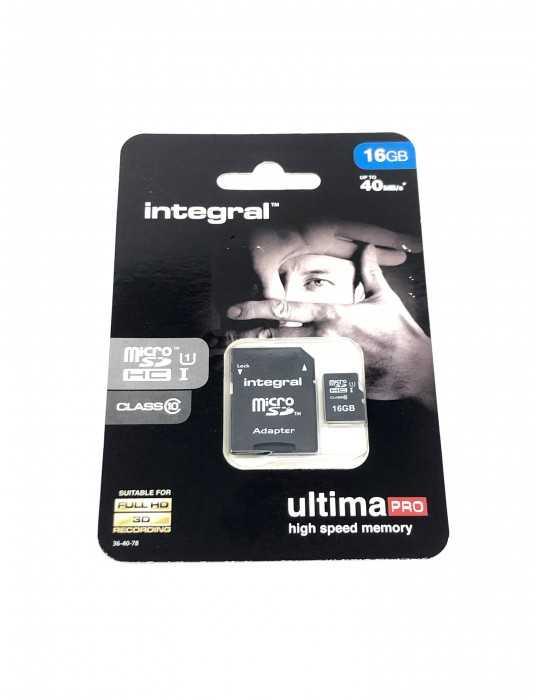Tarjeta Memoria Micro SD 16 GB SDHC clase 10