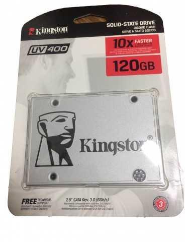 Disco Duro SSD Kingston 120GB SSDNOW UV400