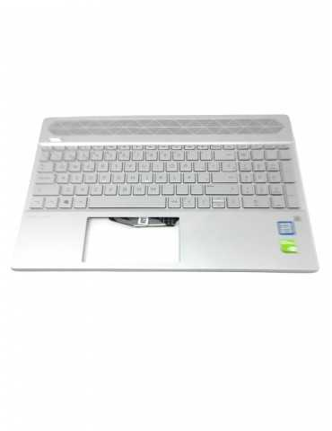 Top Cover con Teclado Original Portátil HP L24752-071